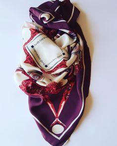 foulard / scarf vintage Mercedes Benz di passatosetoso su Etsy #vintage #mercedes #mercedesbenz @mercedesbenz