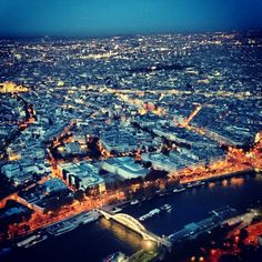 View from the #eiffeltower #paris