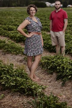 Strawberry Fields Engagement Session Photograph by Caroline Ross Photography http://www.storyboardwedding.com/strawberry-field-dreams-surprise-guest-laughter-love-in-our-end-of-summer-engagement-session/