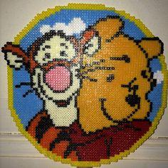 Winnie & Tigger hama perler beads by rasmussen_frankIconosquare