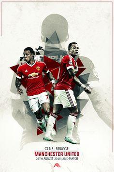 Tomorrow! Club Brugge vs Manchester United!