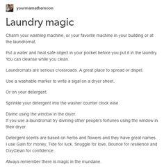 Laundry magic