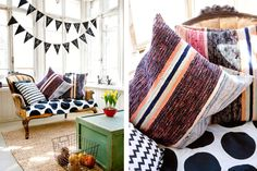 Throw Pillows, Blanket, Rugs, Bed, Creative, Diy Ideas, Villa, Inspiration, Home