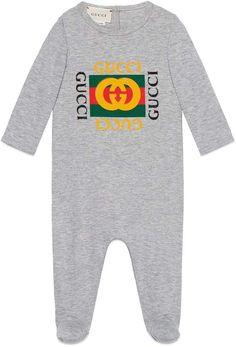 8f05d42086d Gucci Graphic Cotton Romper. Gucci BabyGucci KidsClothing ...