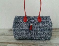 Damentasche Tasche Schultertasche gehäkelt KS Stil NEU!TOP! in Kleidung & Accessoires, Damentaschen | eBay
