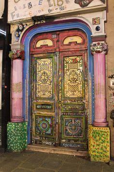 IMG_1352 Street Art, Urban, Let Them Talk, Rue, Doors, Peace, Home Decor, Puertas, Decoration Home
