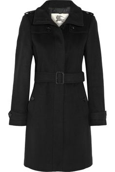 BURBERRY LONDON Wool and cashmere-blend coat $1,495 http://www.net-a-porter.com/products/440035