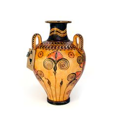 Take Greek history home! Hand made Greek vase from Minoan period. Visit our site www. Knossos Palace, Greek History, Minoan, Crete, Ancient Greek, Vases, Period, Museum, Handmade