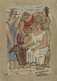 「裸婦たち ピカソ」の画像検索結果