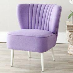 Safavieh Morgan Accent Chair Lavender - MCR4548C