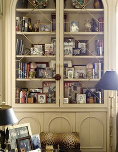 This is what a bookcase that has been perfectly...