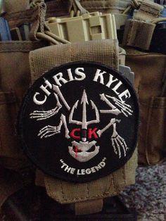 Chris Kyle...We need more warriors like him to help save America.