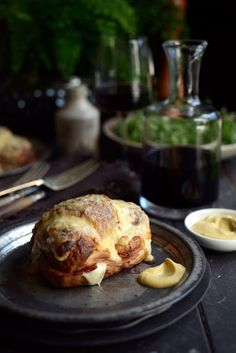 From The Kitchen: Croissant Croque Monsieur