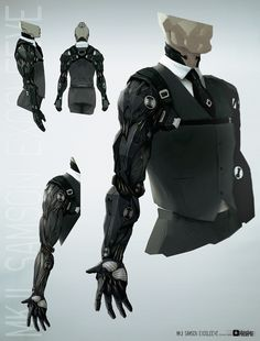 Future of prosthetic  ~ MKJL Samson Exosleeve