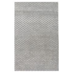 New Zealand wool rug in silvered gray and taupe. Hand-tufted in India.  Product: RugConstruction Material: New Zealan...
