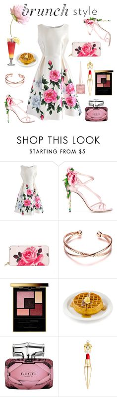 """Mother's Day"" by torresmjm-1 ❤ liked on Polyvore featuring Chicwish, Dolce&Gabbana, Kate Spade, Yves Saint Laurent, Gucci and Christian Louboutin"