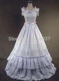 viktorianische Hochzeit in lolita
