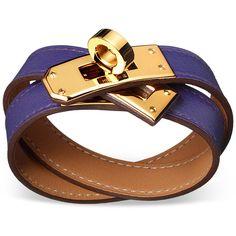 Hermes leather bracelets, Hermes leather jewelry