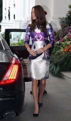 Los looks de Kate Middleton en Singapur
