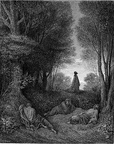 Jesus Praying Garden Gethsemane Jesus Prays In The Garden Of Gethsemane Before His Crucifixion