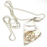 Heart Necklace - Bullet Jewelry - Lightening Bolt  available at 9thandelm.com #handmade #jewelry #9thandelm