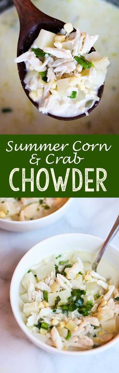 14 Favorite Soup and Stew Recipes | Corn Chowder, Chowders and Plates