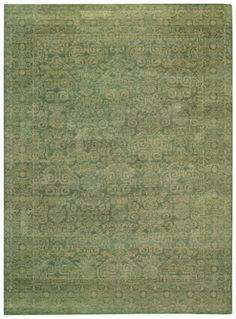 Persian Trace Rugs  Jade  Rectangle
