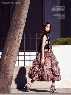 #FeiFeiSun by #NathanielGoldberg for #VogueChina March 2015