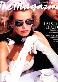 Claudia Schiffer | Photography by Arthur Elgort | For The Sunday Times | January 1995