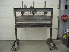 Homebuilt Press Brake - Metal Meet Forums