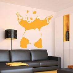 Banksy Panda Wall Sticker