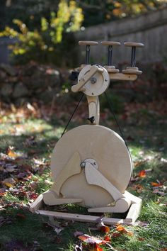 Pollywog Spinning Wheel by Dirtpatcheaven on Etsy