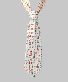 Another great find on #zulily! Red 'Vroom-Vroom' & 'Choo-Choo' Scoot Tie #zulilyfinds