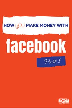In this blog series, I am going to show you, not only how I make money on Facebook, but how YOU can as well!