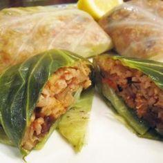 Vegan Dolmas (Stuffed Cabbage) - Change Recipes into Vegan Dishes - Shape Magazine