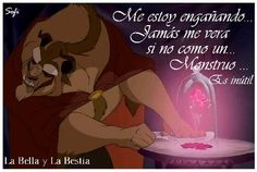 """Frases+Disney+:+Especial+Frases+Disney  .fotolog/passion_disney    1+2+3+4+5+6+7+8+9+10+11+12+13  14+15+16+17+18+19+20+21+22+23+24+25+26+27+28+(29)+30+31    Frase:+""""+Me+estoy+engañando,+jamás+me+vera+si+no+como+un…+Monstruo…+es+inútil.""""+    Personaje:+La+bestia    Película:+La+bella+y+la+bestia      _______________________________________________________  La+feroz+bestia+intentaba+creer+que+algún+día,+sin+temor+y+sin  Desprecio,+La+bella+y+resuelta+j"""