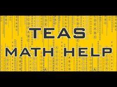 http://www.teassecrets.com A free video giving help on the math section of the TEAS exam. #teas #test #mometrix