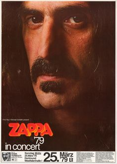 1979 Frank Zappa - what agreat tour that was