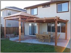 Awesome Wood Patio Covers Kits