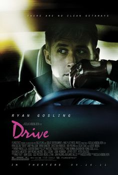 In Drive, Ryan Gosling is the driver, a quiet man and a skilful driver, in this crime thriller.