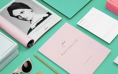 Another gorgeous identity project from Mexican studio, Anagrama . is a line of custom-made turbans made specifically tailored for . Web Design, Layout Design, Design Art, Print Design, Graphic Design, Identity Design, Visual Identity, Brand Identity, Presentation Layout