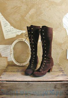 141f3c8eeba4 Vintage 1960s Path Less Traveled Boots Size 6.5 7