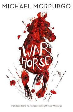 Beautiful War Horse cover | designed by Andrea Kearney, illustrated by Rae Smith
