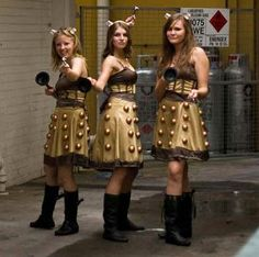 And I thought my idea for a Dalek Dress would be original!