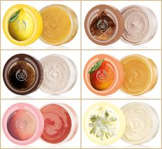The Body Shop- love these body butters! Simply love smelling like food :D