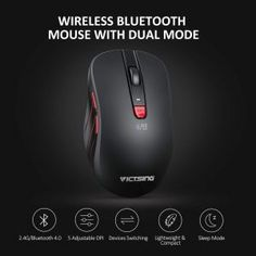 VicTsing Bluetooth Wireless Mouse Review - Paramountind 4g Wireless, Bluetooth, Best Ergonomic Mouse, Mac Os, Logitech, Computer Accessories, Computer Mouse, Pc Mouse, Mice