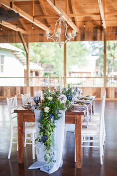 Dusty Blue Farm Wedd