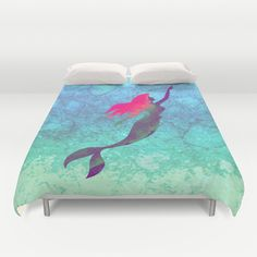 Duvet Covers featuring Disney's The Little Mermaid by foreverwars