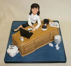 Cake Decorating Job Ad : 1000+ images about Receptionist/secretary cake on ...