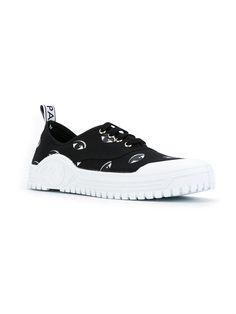 Mike Eyes Sneakers, Black